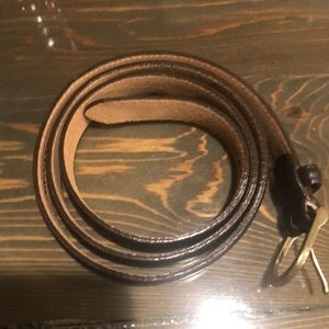 Women's LL Bean leather belt